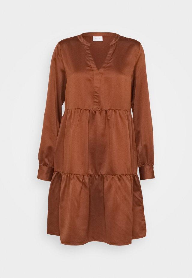 VIFLASH CUTLINE DRESS - Robe d'été - tortoise shell