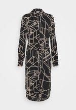 VIALU LUANI MIDI DRESS - Maxi dress - black