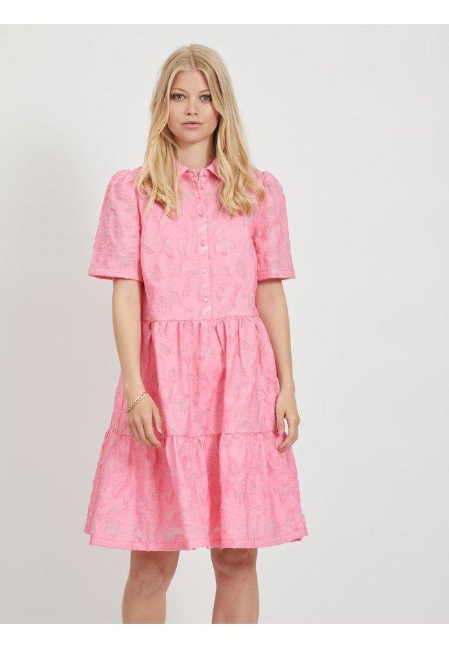 Shirt dress - rosebloom