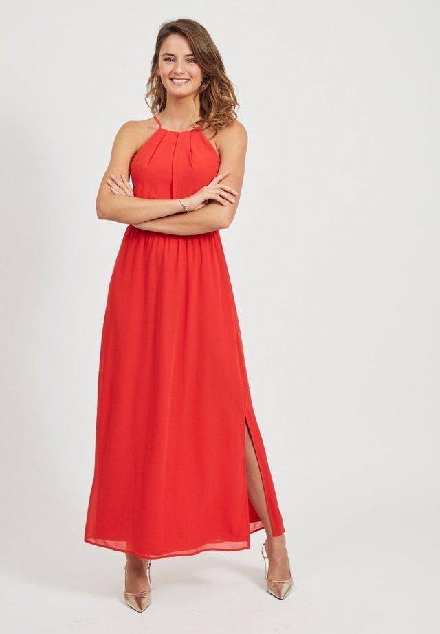 Długa sukienka - flame scarlet