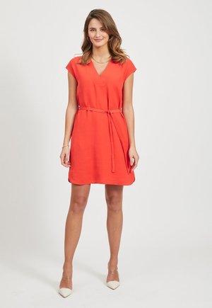 Korte jurk - Flame Scarlet