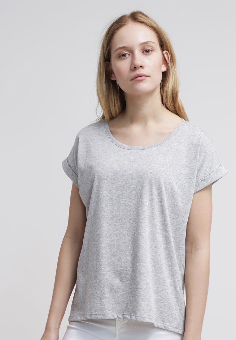 Vila - VIDREAMERS PURE  - T-Shirt basic - light grey melange
