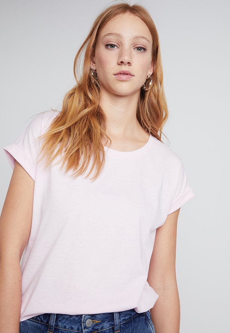Vila - VIDREAMERS PURE  - Basic T-shirt - lilac snow