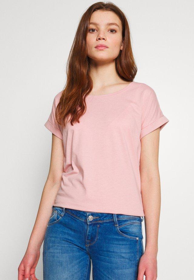 VIDREAMERS PURE  - T-shirt basic - pale mauve