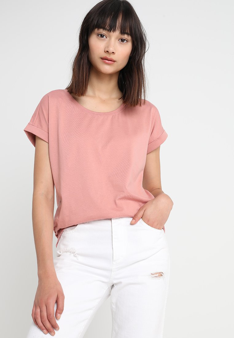 Vila - VIDREAMERS PURE  - T-Shirt basic - ash rose