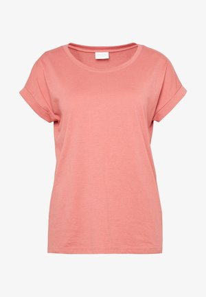 VIDREAMERS PURE  - Basic T-shirt - dusty cedar