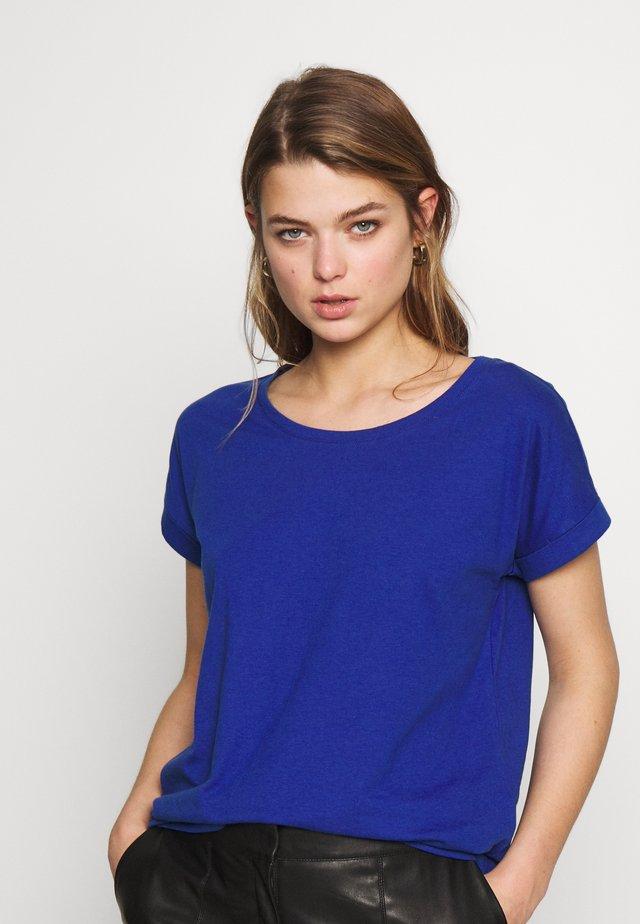 VIDREAMERS PURE  - T-shirt - bas - mazarine blue