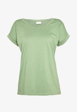 VIDREAMERS PURE  - Basic T-shirt - loden frost