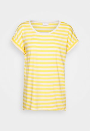 VIDREAMERS - T-shirts med print - samoan sun/snow white