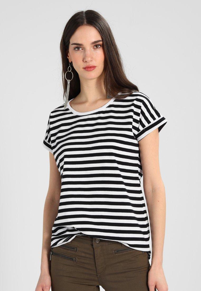 Vila - DREAMERS PURE - T-Shirt print - black/snow