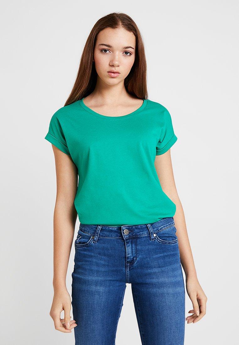 Basique Pepper Green PureT shirt Vila Vidreamers YE9WDIH2