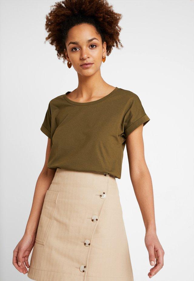 VIDREAMERS PURE - T-shirt - bas - dark olive