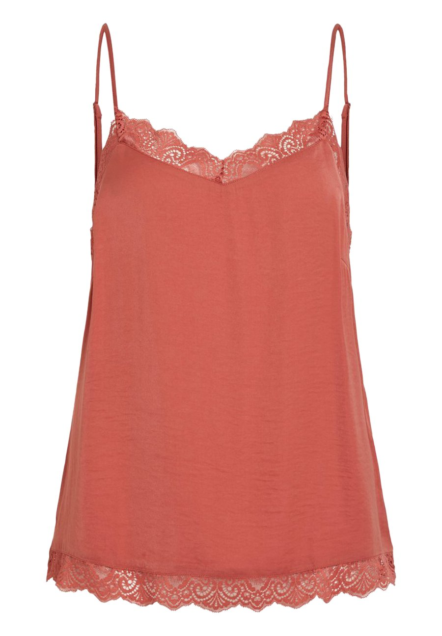 Vila VICAVA SINGLET - Top - dusty cedar
