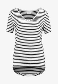 Vila - VIFI  - T-shirt z nadrukiem - total eclipse snow white - 4