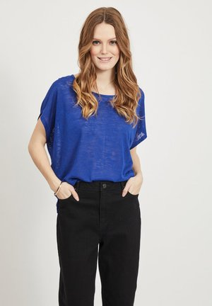 VISUMI  - Basic T-shirt - mazarine blue