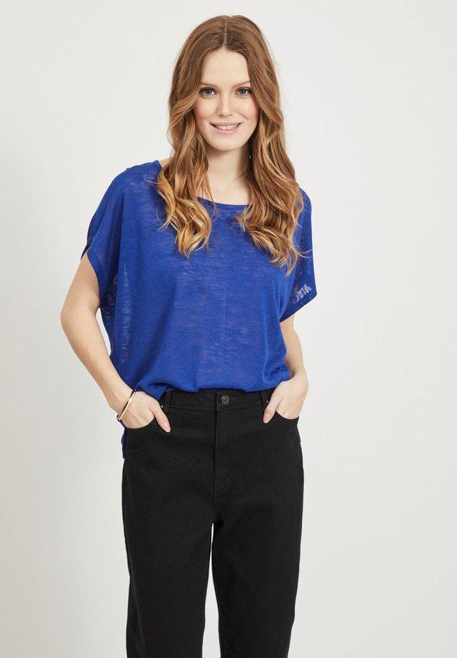 VISUMI  - T-shirt basic - mazarine blue