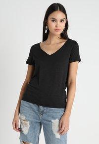 Vila - VINOEL  - T-shirt basic - black - 0