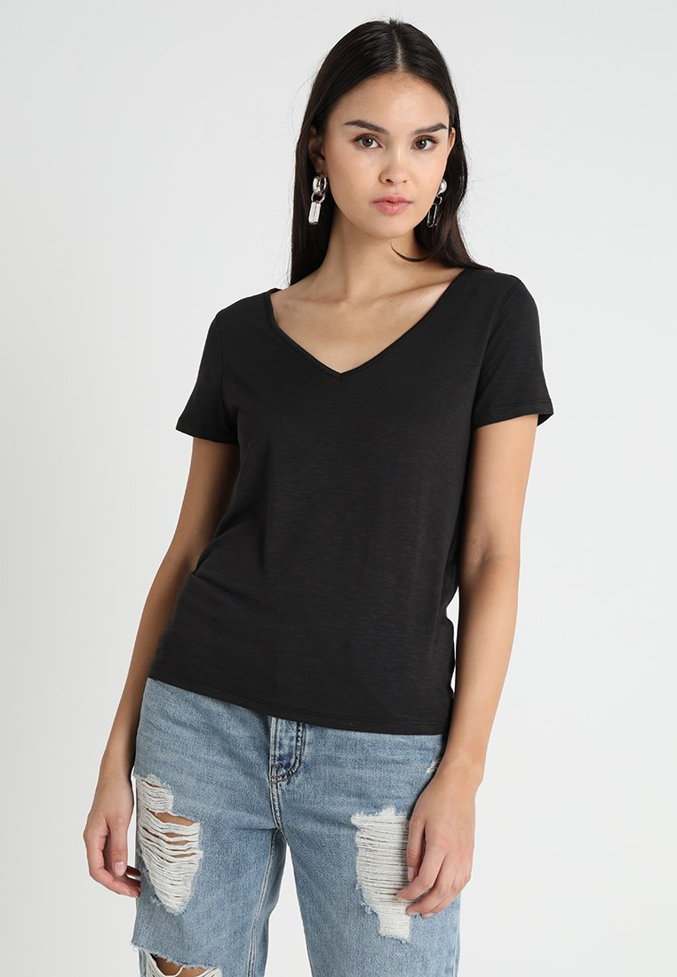 Vila - VINOEL  - T-shirt basic - black