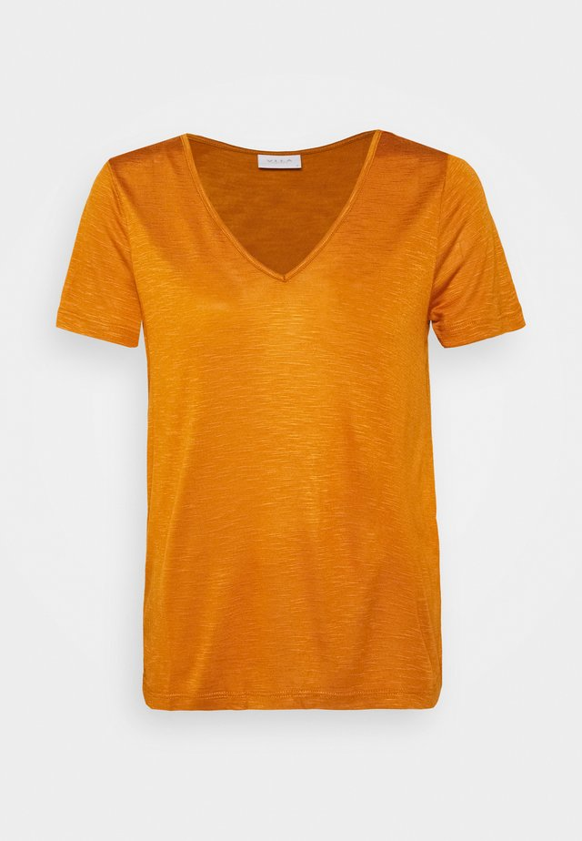T-shirt basic - pumpkin spice
