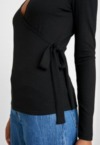 Vila - Long sleeved top - black - 5