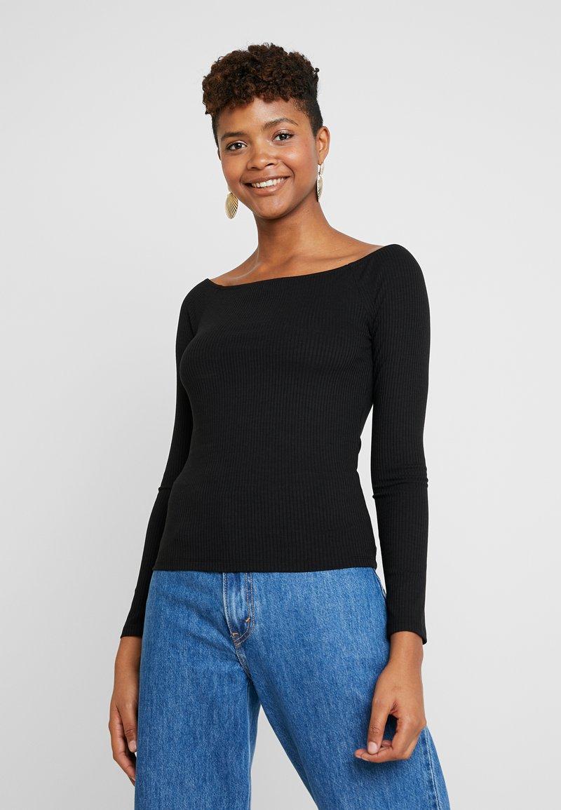 Vila - T-shirt à manches longues - black