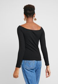 Vila - T-shirt à manches longues - black - 2