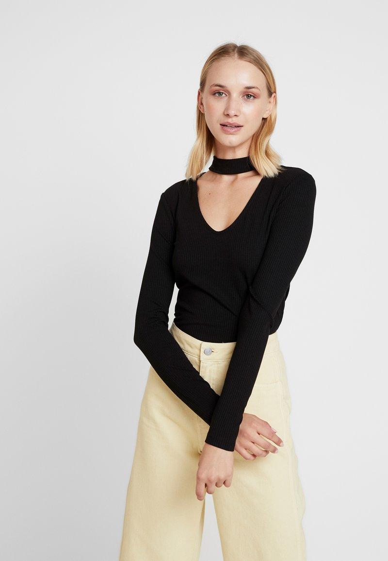 Vila - Long sleeved top - black