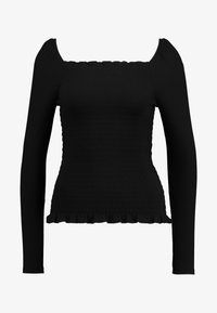Vila - Long sleeved top - black - 4