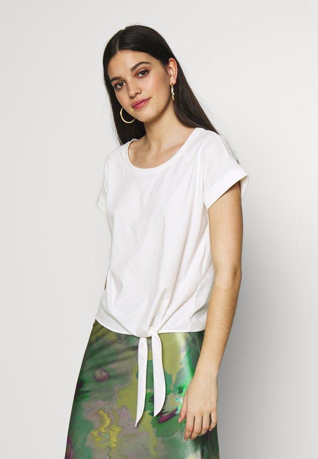 VIDREAMERS - T-shirt med print - cloud dancer