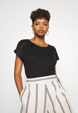 VIPPI - T-shirts med print - black