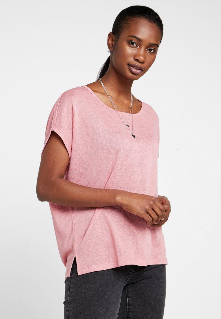 Vila - VISUMI  - T-Shirt print - brandied apricot