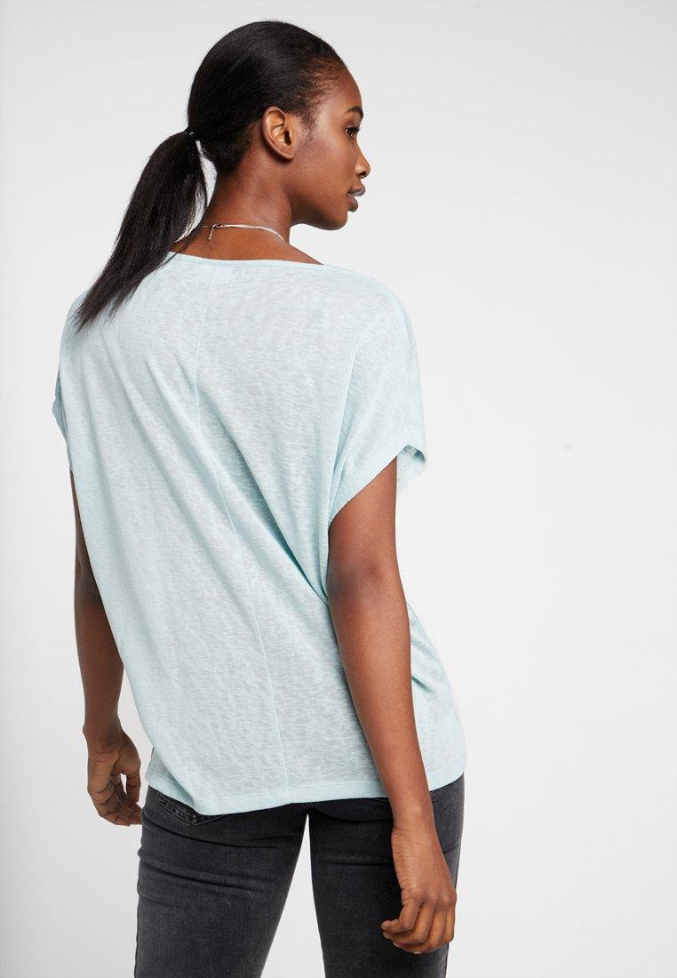 Vila VISUMI- T-shirt imprimé blue haze