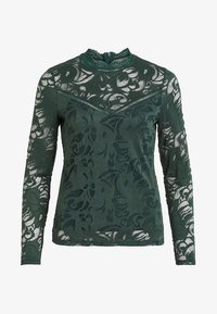 Vila - VISTASIA - Bluzka - dark green - 4