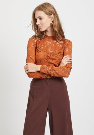 VISTASIA - Blouse - caramel coffee