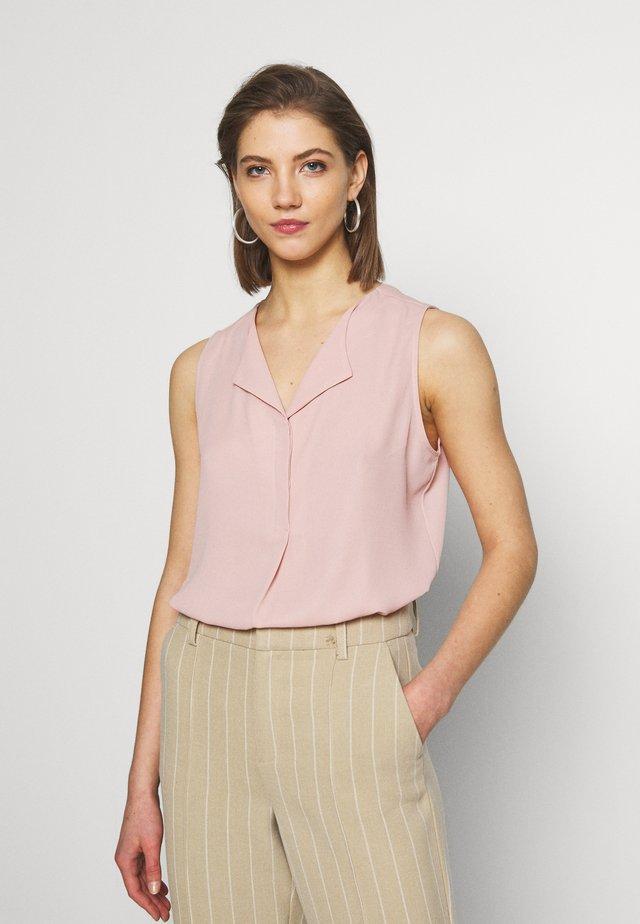 VILUCY TOP  - Button-down blouse - pale mauve