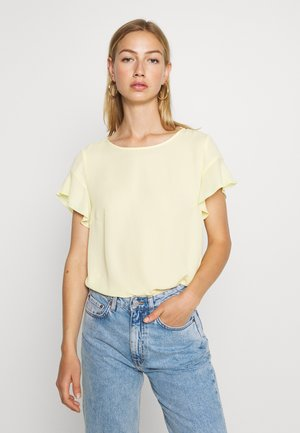 VILUCY FLOUNCE - Blouse - mellow yellow