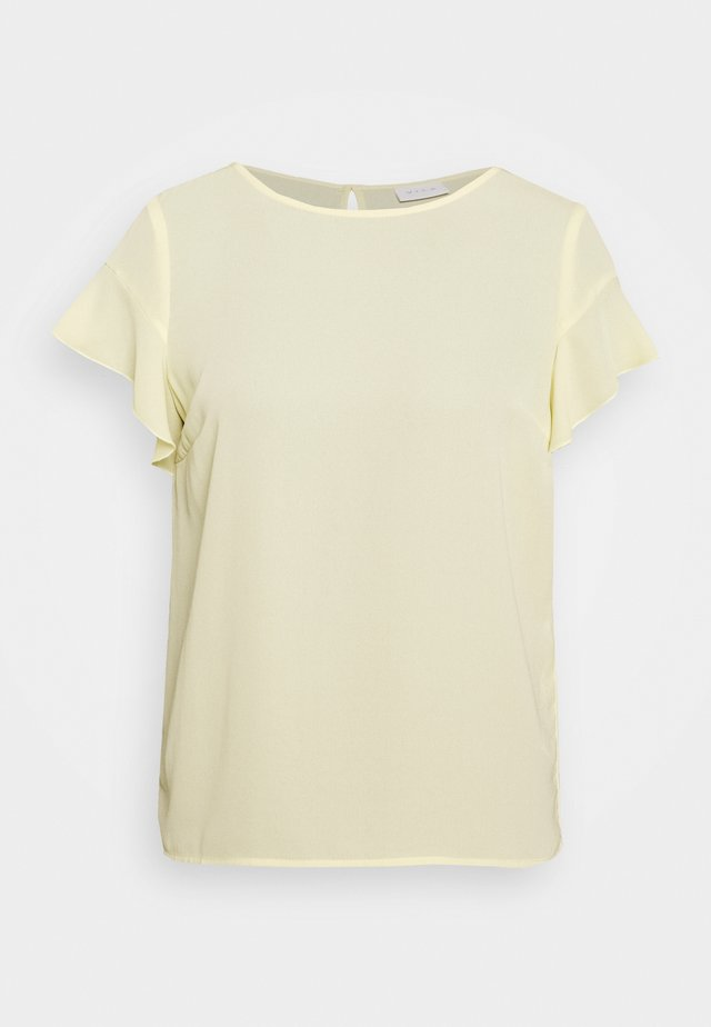 VILUCY FLOUNCE - Blus - mellow yellow