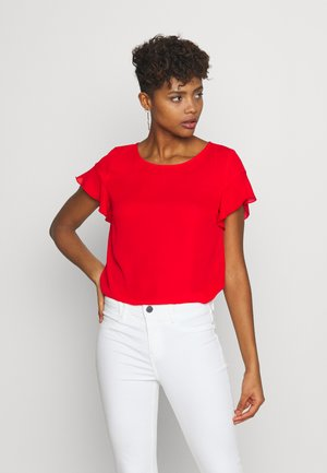 VILUCY FLOUNCE - Blouse - flame scarlet