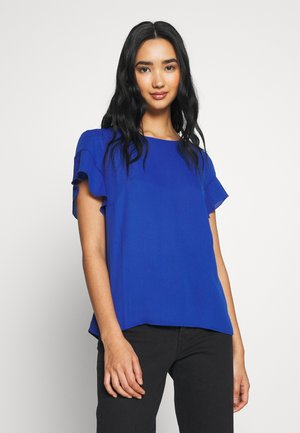 VILUCY FLOUNCE - Bluse - mazarine blue