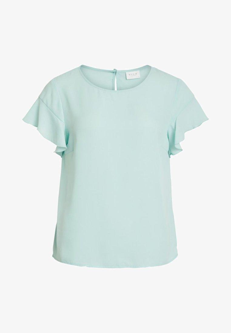 Vila - VILUCY FLOUNCE - Bluse - mint