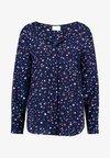 Vila - VILUCY FAV LUX - Bluse - navy blazer