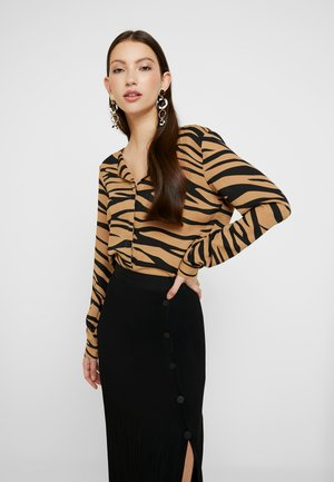 VILUCY FAV LUX - Blouse - tigers eye/zinnaia