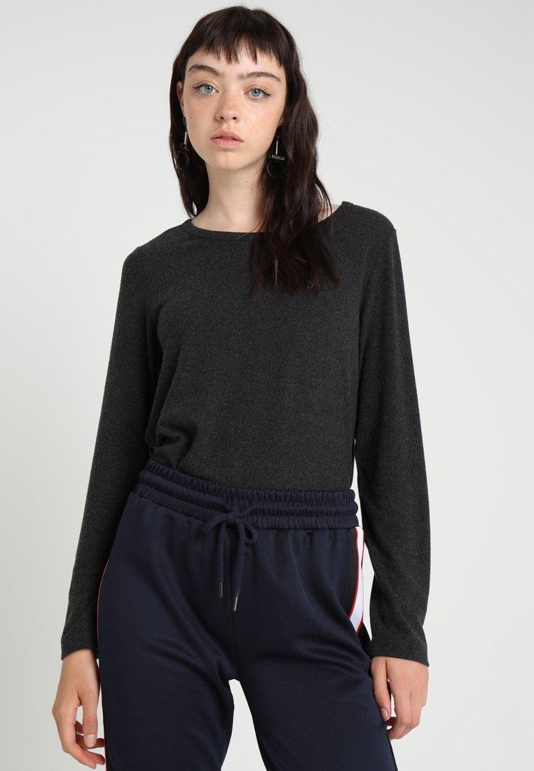 Vila VIDEA O NECK - Pullover dark grey melange