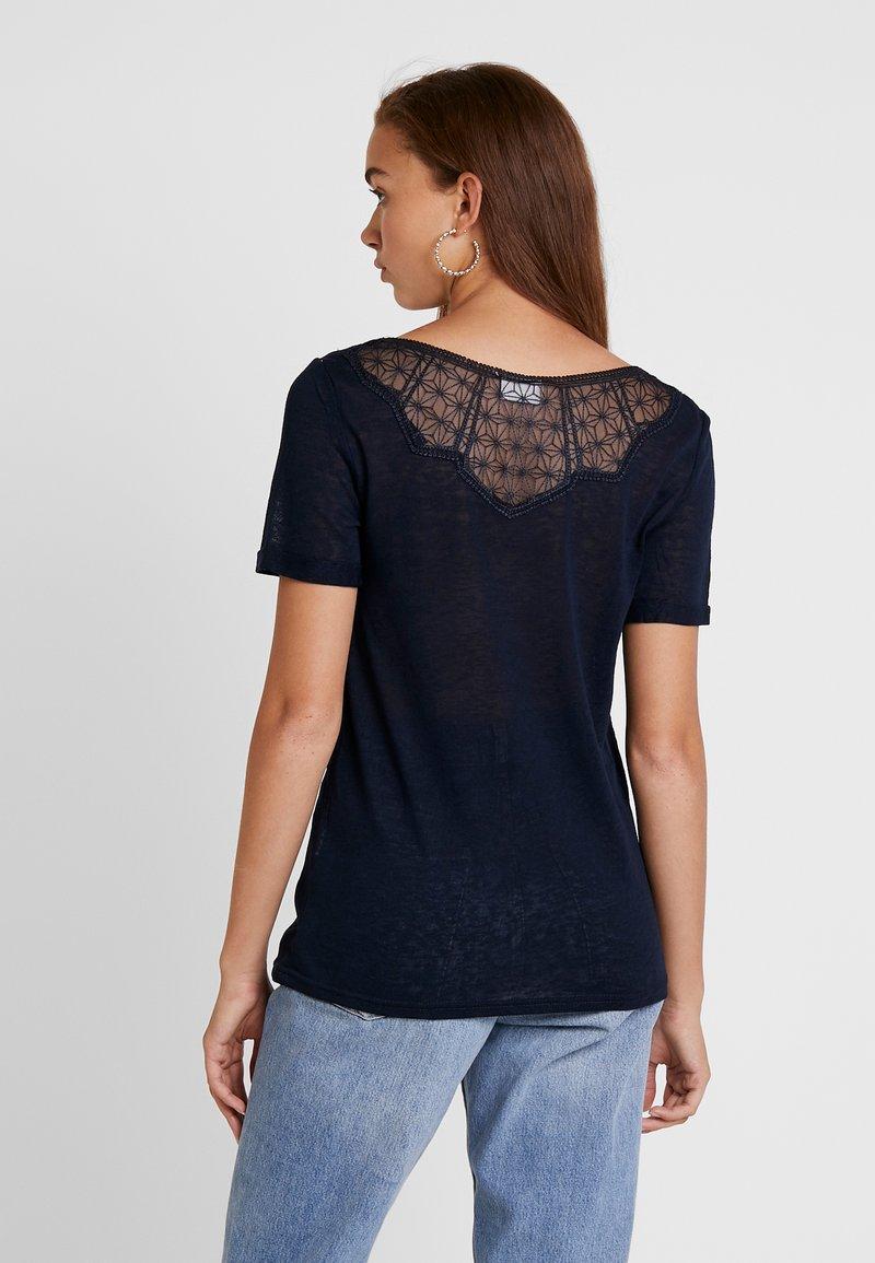 Vila - VISUMI NEW BACK - T-shirt imprimé - total eclipse