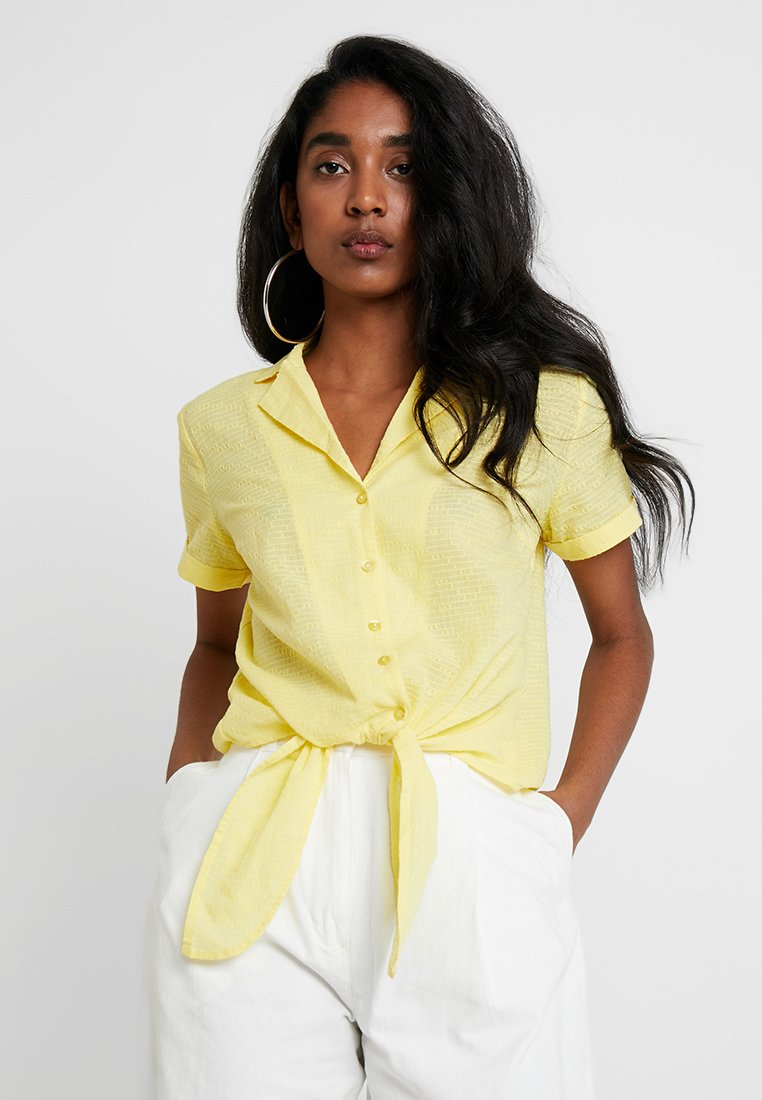 Vila - VIBARBRA - Button-down blouse - goldfinch