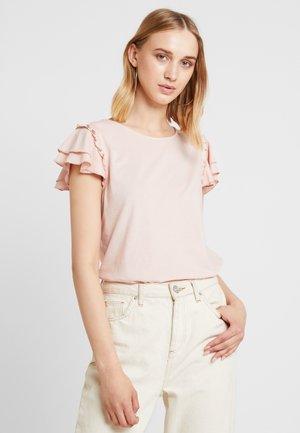 VILIA - T-shirt z nadrukiem - rose smoke