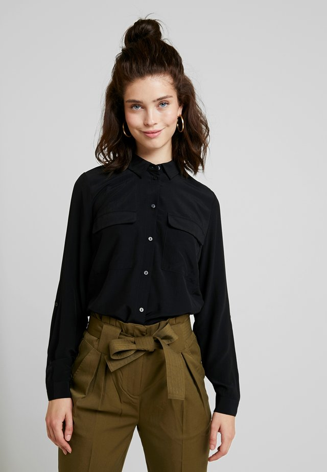 VITHOMA  - Button-down blouse - black