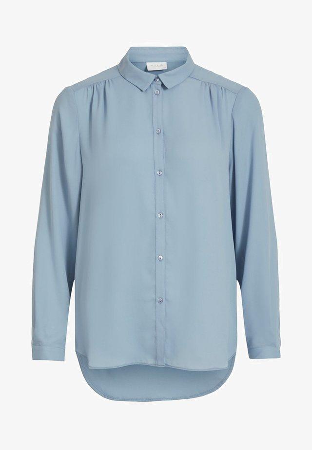 VILUCY - Button-down blouse - ashley blue