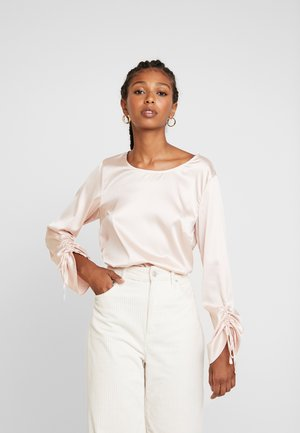 Blouse - pink champagne