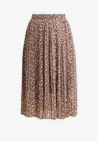 Vila - VINAHLA SKIRT - Pliceret nederdel /Nederdele med folder - puce/rose smoke - 3